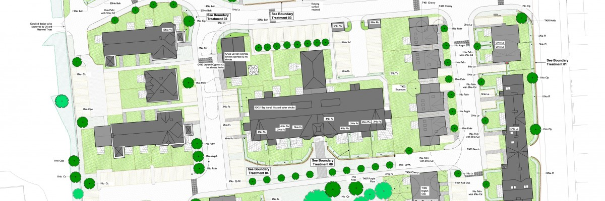 Otley Hospital Housing Landscape Masterplan