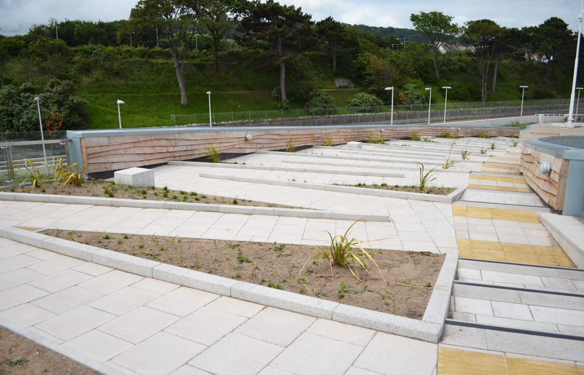 Colwyn bay watersports hotspot ryder landscape consultants for Garden design for disabled