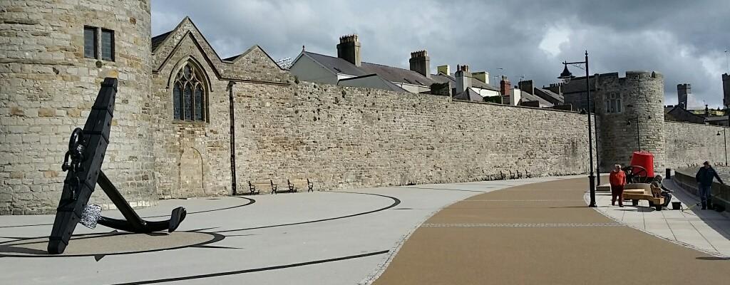 Caernarfon Town Walls Promenade