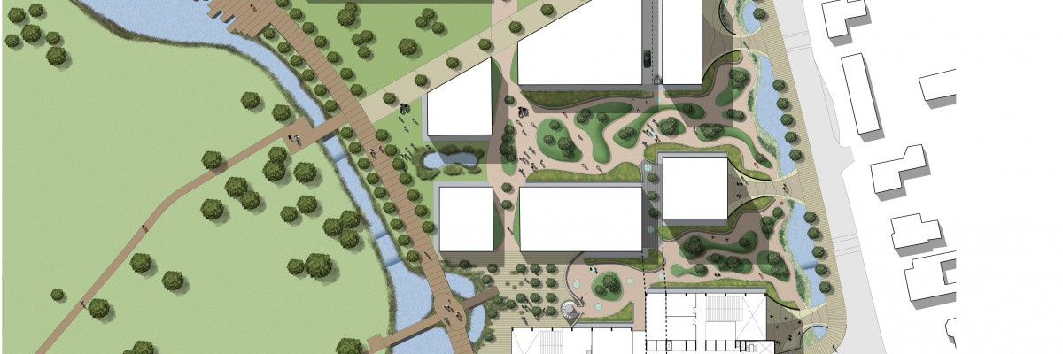 Alder Hey Childrens Hospital Design Competition Landscape Masterplan