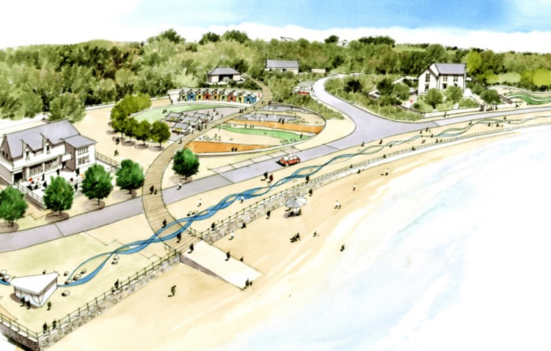 Anglesey Phase 2 Coastline Proposals, Artist impression