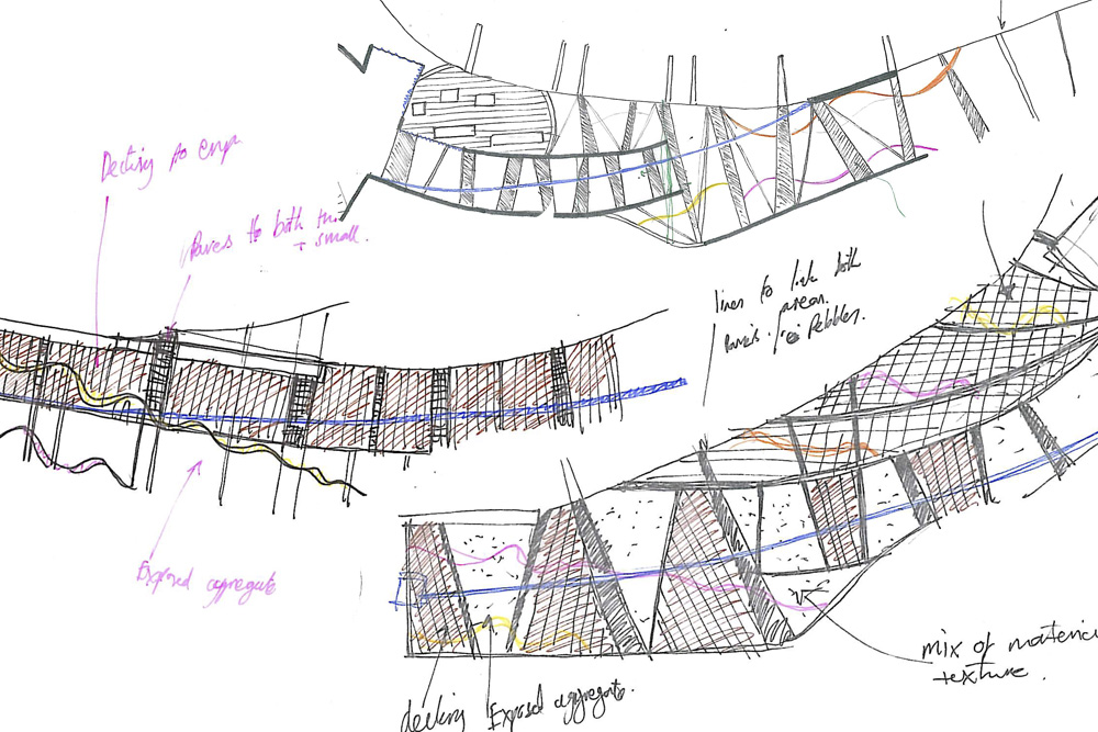 Colwyn Bay Watersports Hotspot concept sketches