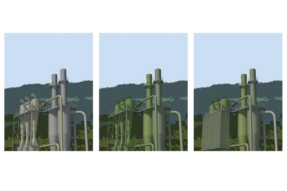 Combined Heat and Power Plant, Kronospan, North Wales
