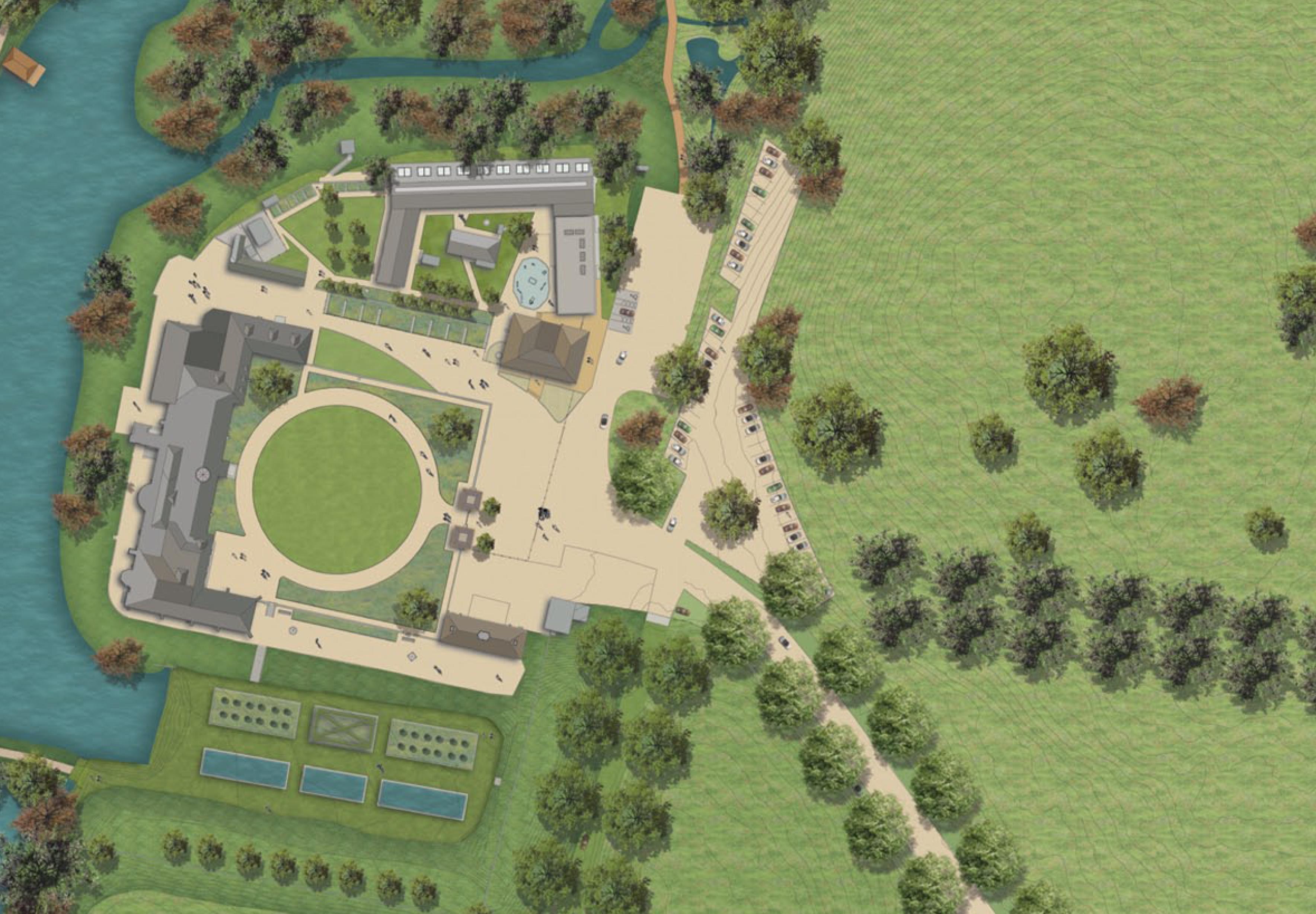 Hartlebury Castle - Landscape Masterplan